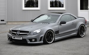 KIT large Mercedes SL R230 Facelift look AMG