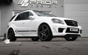 Pare choc av Mercedes ML look AMG PRIOR DESIGN