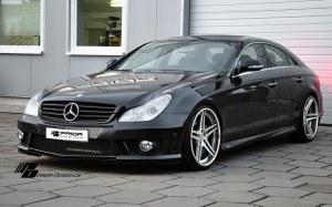 Pare choc avant Mercedes CLS W219 look AMG