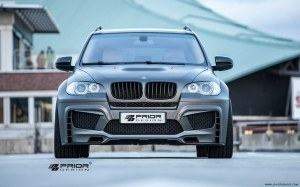 KIT CARROSSERIE PRIOR DESIGN PD5X POUR BMW X5 (E70)