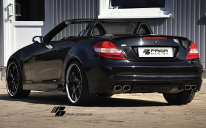 Pare choc arriere Mercedes SLK look AMG