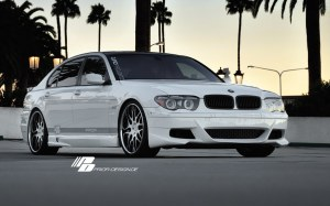 Pare-chocs avant BMW S/7R E65