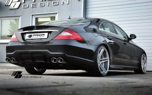 Pare choc arriere Mercedes CLS W219 look AMG