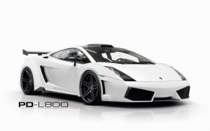 KIT CARROSSERIE PRIOR DESIGN PD-L800 WB POUR LAMBORGHINI GALLARDO (2003-2008)