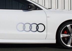 Paire de Logo de porte AUDI