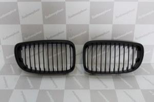 Calandre BMW serie 1 noir phase 2 08-11