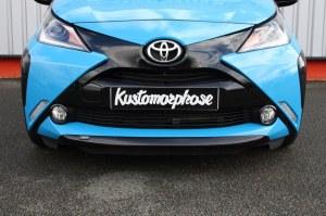 rajout de pare choc avant Toyota Aygo II