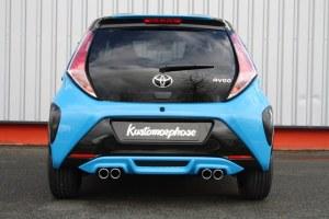 rajout de pare choc arriére Toyota Aygo II