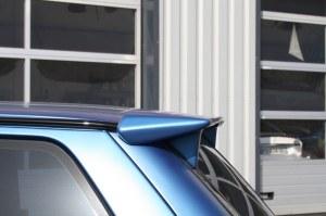 """Becquet de toit """"Asphalte"""" Esquiss'Auto petit modèle sans feu stop pour super 5 gt turbo"""