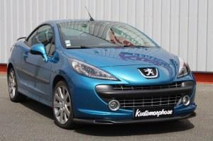 Rajout de pare choc avant Peugeot 207