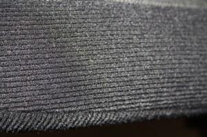 Tissu noir côtelé pour sièges et banquette Renault Super 5 GT Turbo