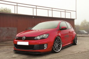 4 Extension d'aile rocket bunny VW GOLF 6 GTI Style Liberty