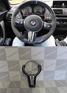 Insert volant carbone BMW M4 F82 F83 M3 F80