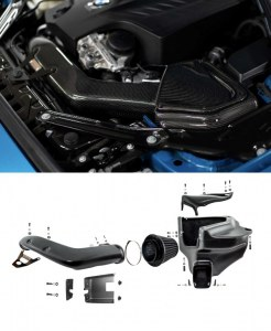 Kit Admission Directe & Dynamique Carbone Armaspeed BMW F20 135i / F22 235i / M2 F87 / F30 335i / F32 435i