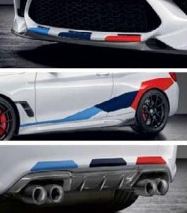 Kit autocollant BMW F87 M2 Compétition