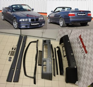 Kit Carrosserie BMW E36 Pack M M3