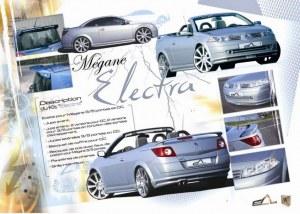 """kit carrosserie """"Electra"""" Esquiss'Auto pour Renault Megane 2 CC"""