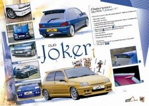 """kit carrosserie """"JOKER I"""" Esquiss'Auto pour Renault Clio 1 Standar"""
