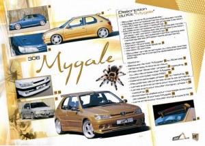 """kit carrosserie """"Mygale"""" Esquiss'Auto pour Peugeot 306"""