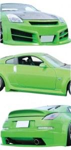 kit carrosserie Nissan 350Z HEVOC