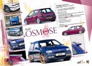 "kit carrosserie ""OSMOSE"" Esquiss'Auto pour Renault Clio 1 16S et Williams"