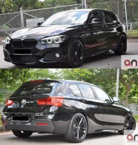 KIT CARROSSERIE PACK M POUR BMW SÉRIE 1 F20 LCI