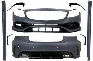KIT CARROSSERIE POUR MERCEDES CLASSE A W176 A45 AMG 2016 à 2018 Facelift