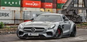 KIT CARROSSERIE PRIOR DESIGN PD800 GT WIDEBODY POUR MERCEDES AMG GT / GTS