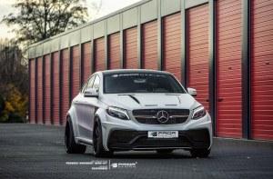 Kit carrosserie Prior Design PDG800X WideBody pour Mercedes GLE Coupé C292