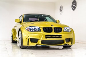 Kit carrosserie rocket bunny BMW serie 1 E82 E88 look 1M Style Liberty