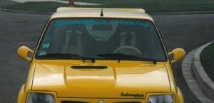 """Prise d'air type """"Clio 16S"""". A mastiquer Esquiss'Auto pour super 5 gt turbo"""
