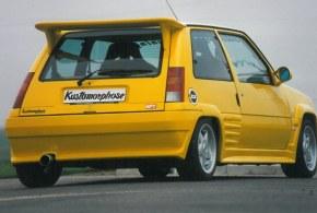 """Pare choc arrière """"Asphalte"""" Esquiss'Auto pour super 5 gt turbo"""
