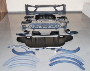 Kit carrosserie PORSCHE CAYENNE TURBO 2010-2014