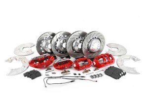 Kit de freins M Performance sport avec étrier rouge BMW M2 F87 et M2 Compétition