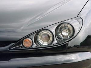 Kit double phare rond Peugeot 206