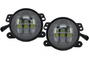 Kit feux antibrouillard avant led JEEP Wrangler / Rubicon JK (2007-2017)