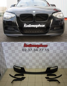 Lame avant de pare choc BMW F20 Performance