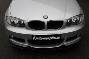 Lame avant pour BMW E82 E88 Pack M