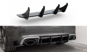 Lame centrale de diffuseur arrière racing pour audi RS3