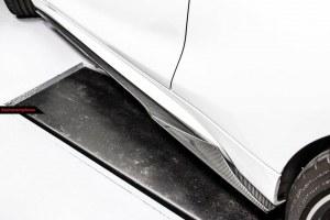 lame de bas caisse carbone MTC Style pour BMW Série 2 M2 F87