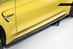 Lame de bas de caisse carbone BMW M4 F82 F83 M3 F80