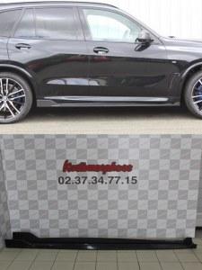 Lame de bas de caisse carbone BMW X5 G05 pack M