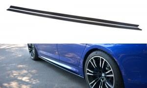 Lame de bas de caisse noir brillant BMW 5 F90 M5