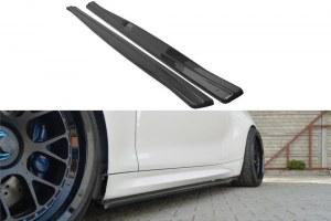 lame de bas de caisse noir brillant pour BMW Série 2 M2 F87