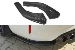 demi lame de pare choc arrière noir brillant pour BMW Série 2 M2 F87