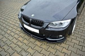 lame de pare choc avant BMW série 3 E92 E93 Facelilt Pack M V2