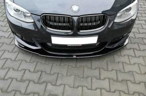 lame de pare choc avant BMW série 3 E92 E93 Facelift Pack M V1