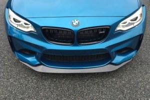 lame de pare choc avant carbone GTS Style pour BMW Série 2 M2 F87