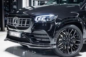 Prise d'air latérale Carbone de pare choc avant LARTE Design pour Mercedes GLS X167