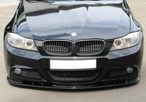 Lame de pare choc avant / Splitter V.1 BMW 3 E90 E91 LCI Facelift Pack M